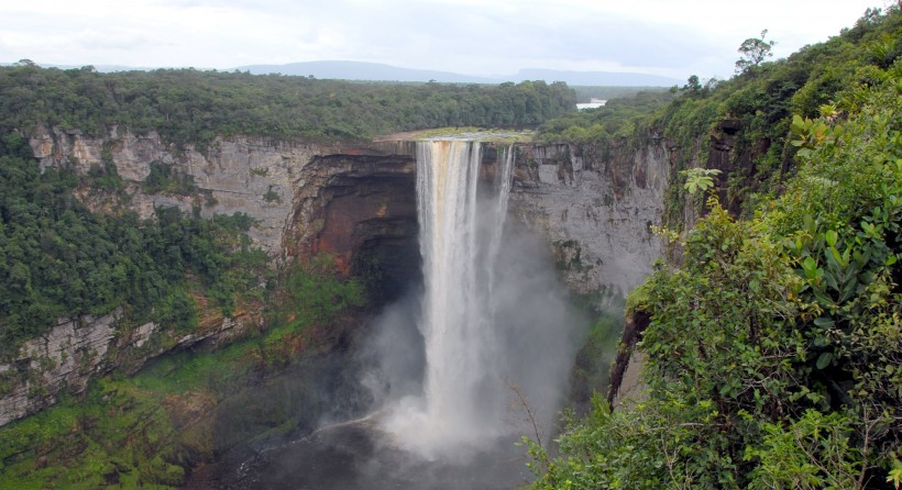 Guyana waterfall